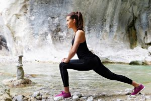 hip muscle stretch